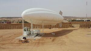 Rheinmetall soll der Bundeswehr einen Aufklärungs-Aerostat für ein Feldlager in Mali liefern.