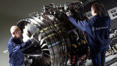 Rolls-Royce BR725 aus Dahlewitz.