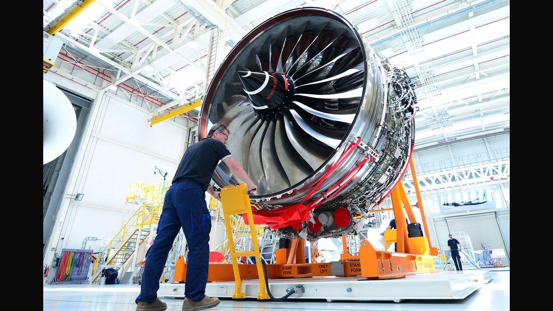 Rolls-Royce Trent XWB in Dahlewitz