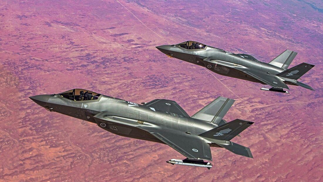 Royal Australian Air Force F-35A Lightning II validation and verification