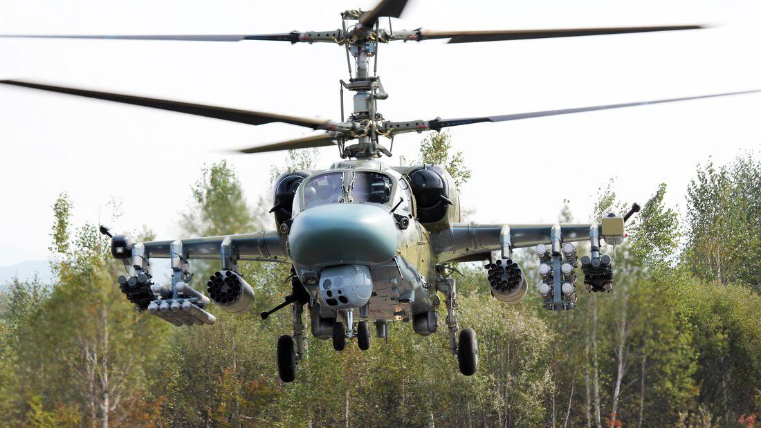 Russian Helicopters hat die Ka-52 zur M-Version weiterentwickelt.
