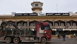 SYRIA-CONFLICT-ALEPPO-AIRPORT