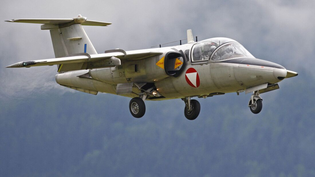 Saab 105OE des Bundesheeres