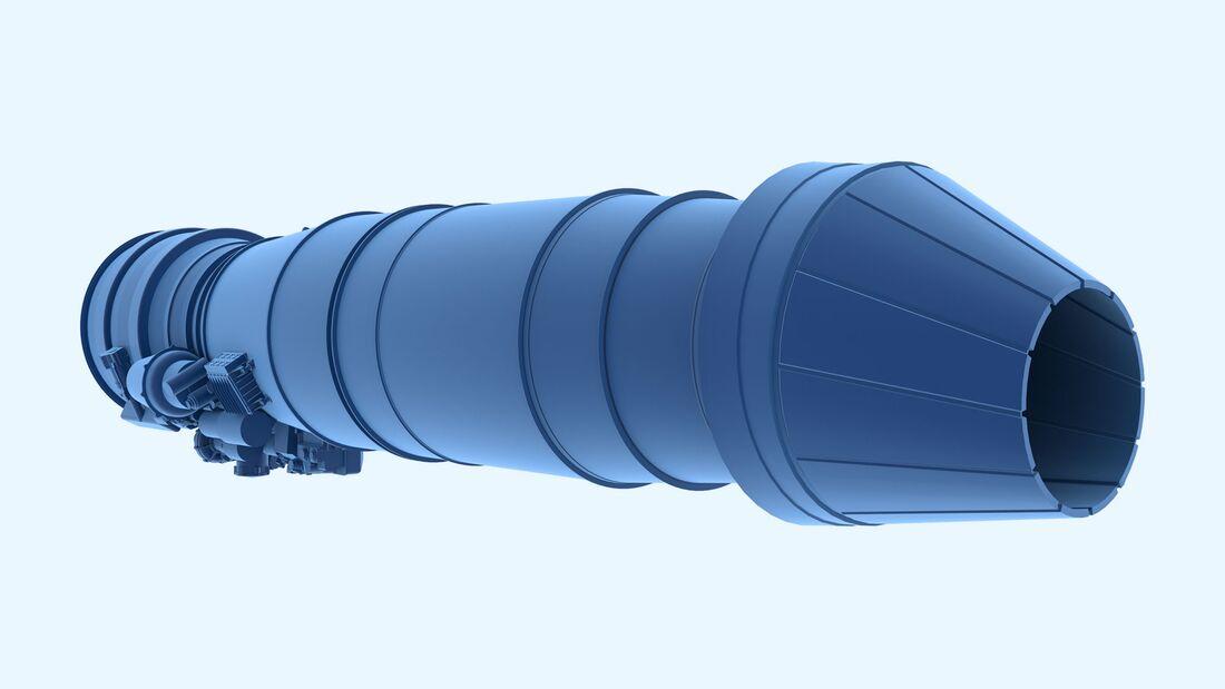 Safran/MTU Triebwerk für den Next-Generation Fighter.