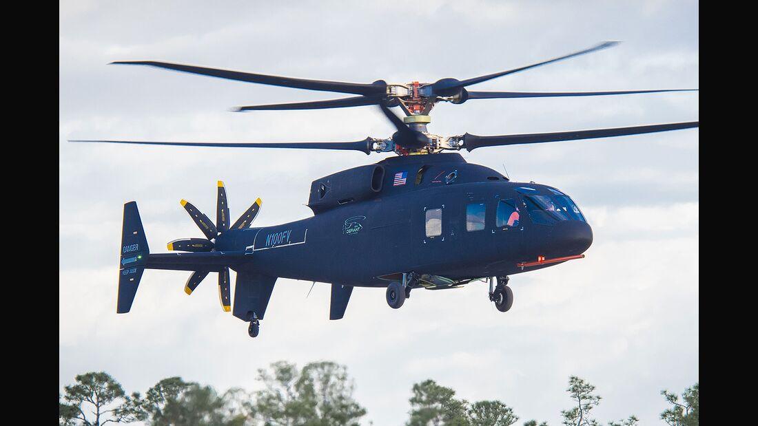 Sikorsky-Boeing SB>1 Defiant Erstflug in Florida 2019