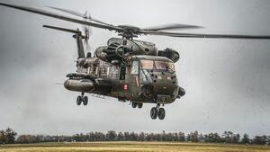 Sikorsky CH-53 der Luftwaffe.