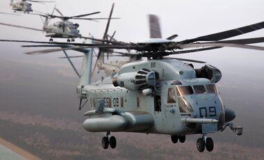 Sikorsky CH-53E Super Stallion des US Marine Corps.