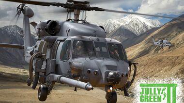 Sikorsky HH-60W Jolly Green II (Zeichnung).