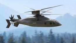 Sikorsky und Boieng bieten die Defiant X für den FLRAA-Wettbewerb der US Army.