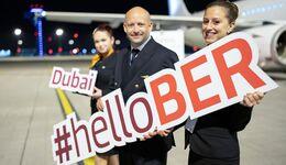 SmartLynx fliegt mit A321 zweimal wöchentlich von Berlin nach Dubai.