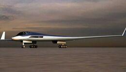 So könnte der nächste russische Bomber aussehen. Entwickelt wird der PAK DA von Tupolew.