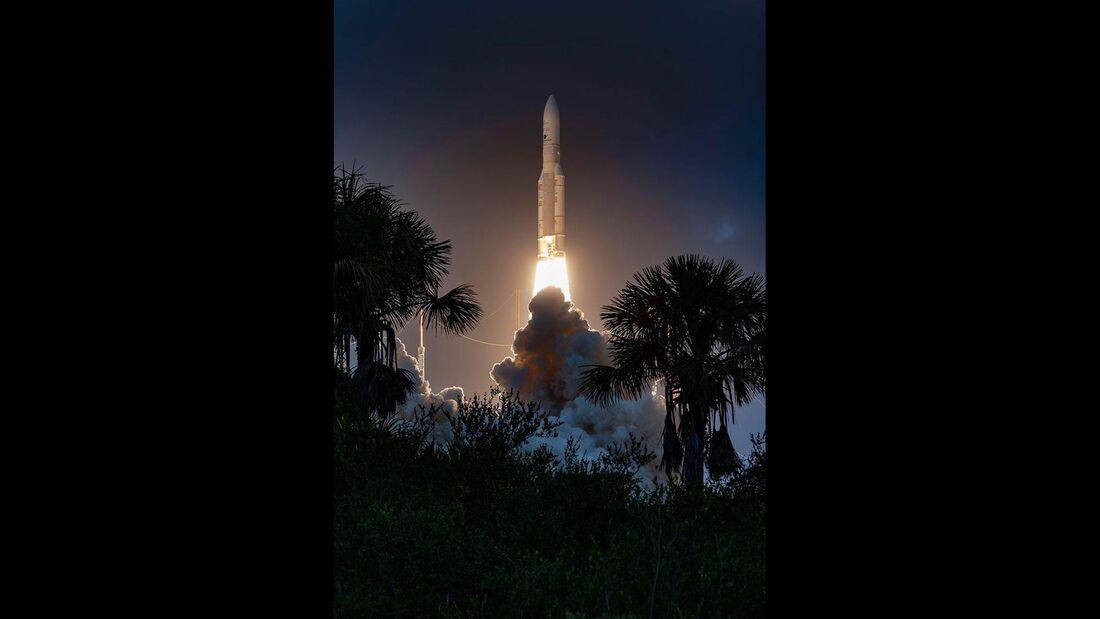 Start der Ariane 5-Mission VA251 am 16.Januar 2020.