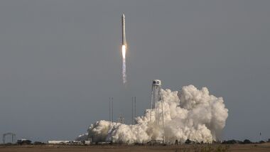 Start einer Cygnus-Kapsel im April 2019