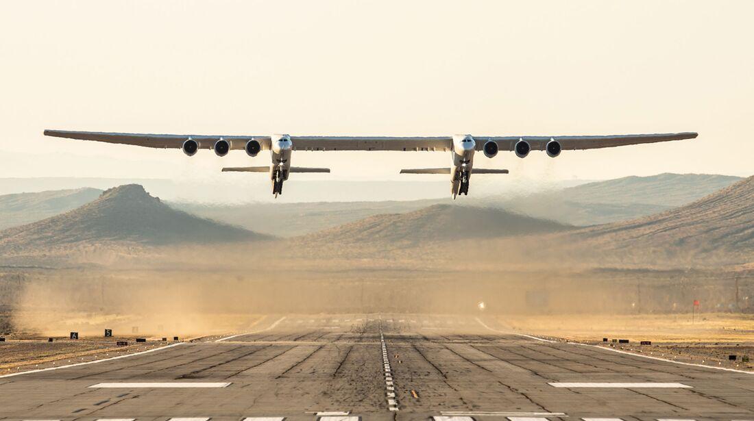 Stratolaunch Erstflug in Mojave