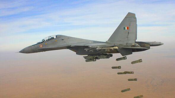 Suchoi Su-30MKI der indischen Luftstreitkräfte.