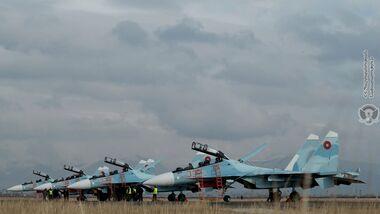 Suchoi Su-30SM an Armenien geliefert.