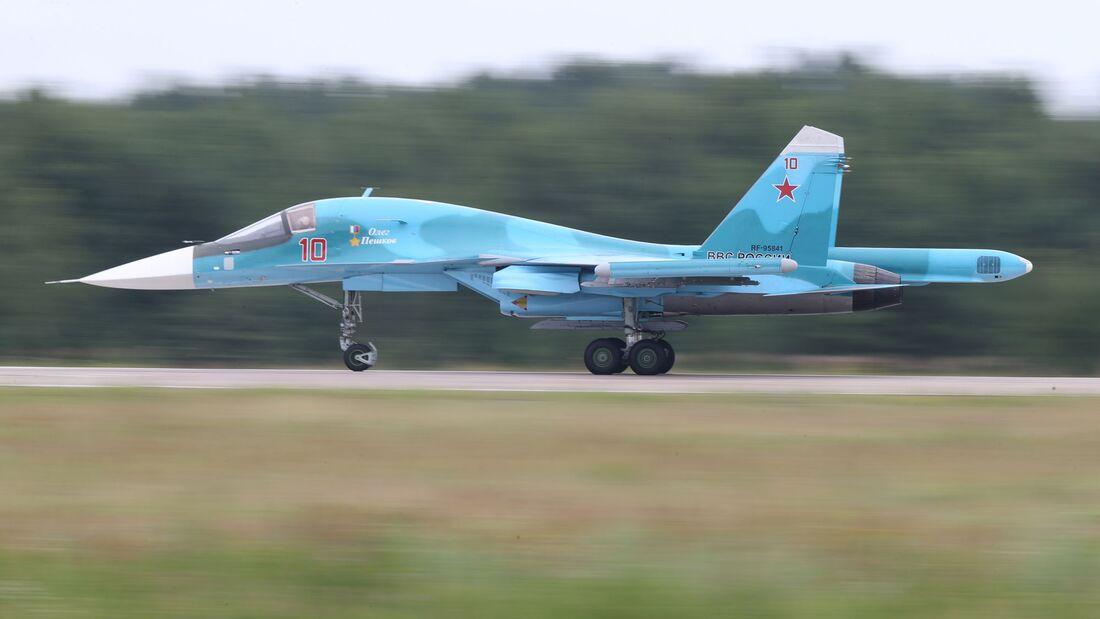 Suchoi Su-34 auf der MAKS.