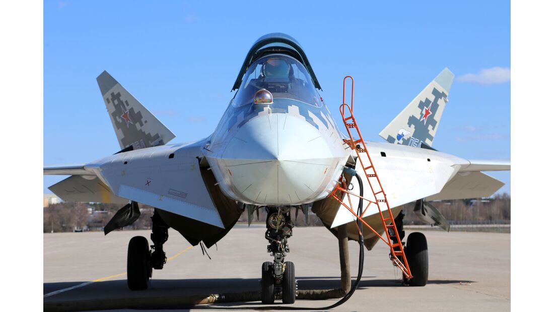 Suchoi Su-57.