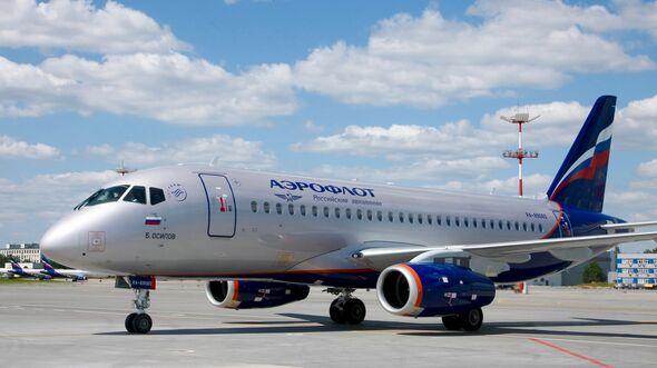 Superjet 100 für Aeroflot.