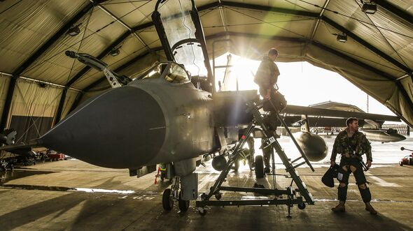 THE END OF AN ERA: RAF TORNADO RETURNS FROM OPERATIONS FOR THE LAST TIME