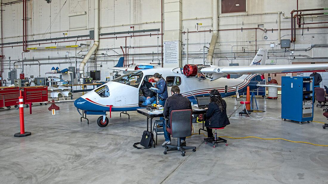Telemetry Testing Begins on All-Electric X-57 Maxwell