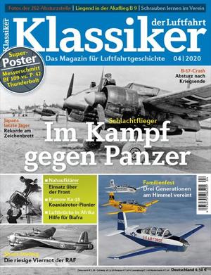 Titelbild des Klassiker der Luftfahrt 4/2020