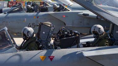Tornado-Piloten der Luftwaffe.