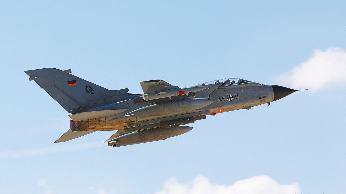 Tornado des Taktischen Luftwaffengeschwaders 33.