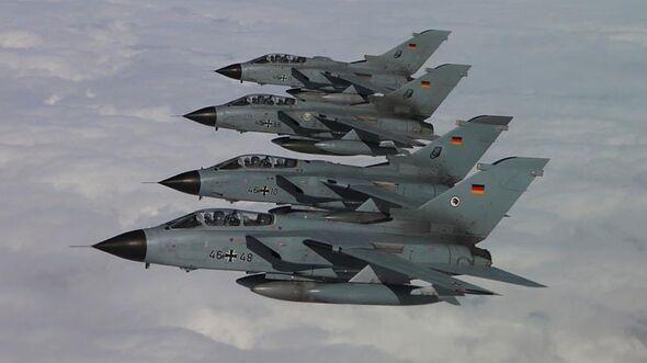Tornados der Luftwaffe am 1. April 2020 auf dem Rückweg aus Jordanien.