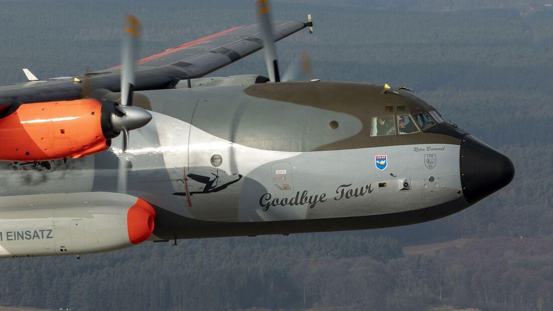 Transall der Luftwaffe im Abschieds-Anstrich 2021
