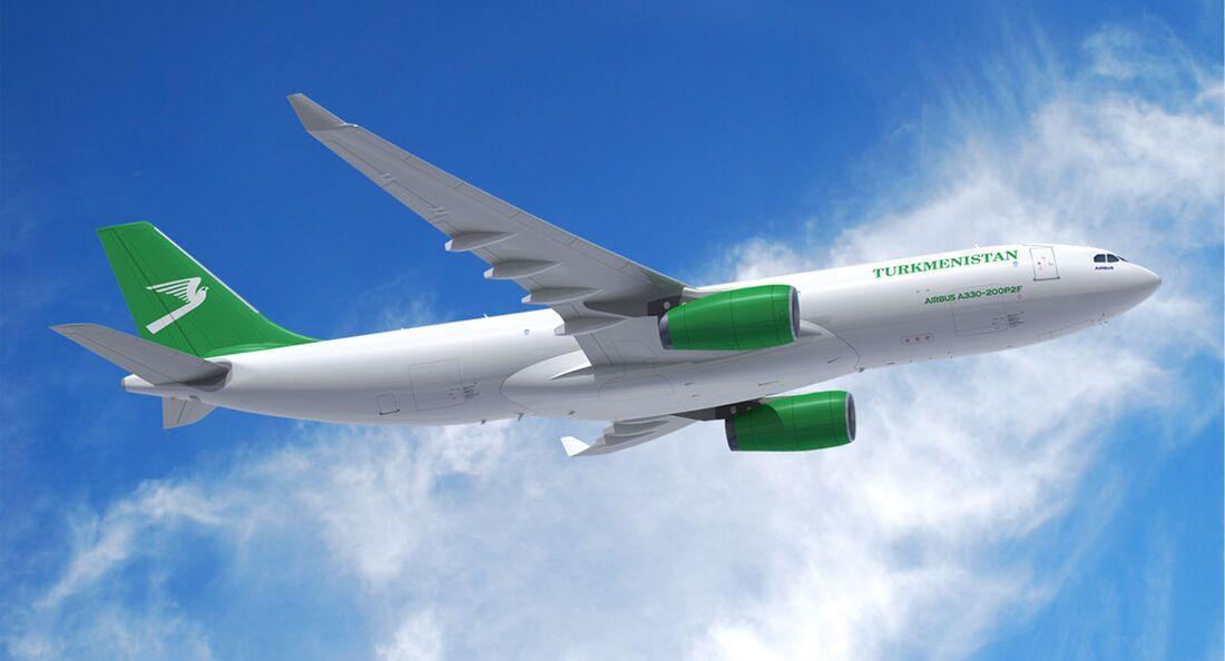 Turkmenistan Airlines hat zwei Airbus A330-200P2F bestellt.