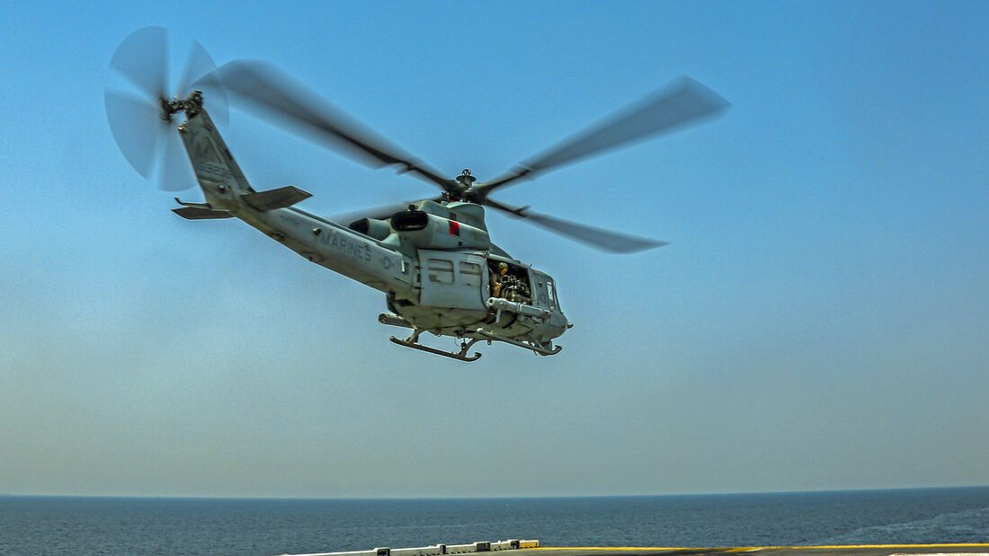 USS Bataan, 26th Marine Expeditionary Unit Transit Strait of Hormuz