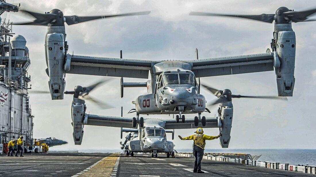 USS MAKIN ISLAND FLIGHT OPS