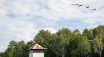 Überflug Dachau von Luftwaffe und IAF.