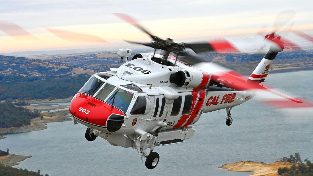 United Rotorcraft rüstet fünf weitere Sikorsky S-70 in die Firehawk-Version um.