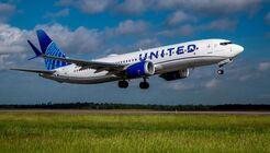 United testet mit der Boeing 737 MAX 8 den Betrieb mit 100 Prozent synthetischem Kraftstoff, der aus pflanzlichen Bestandteilen hergestellt wird.