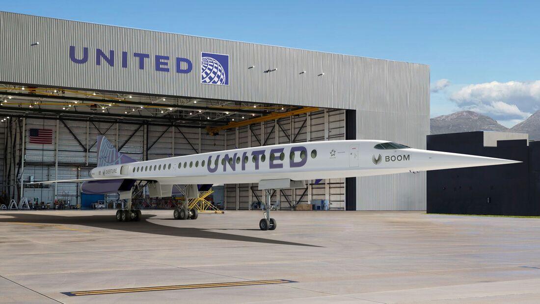United will ab 2029 mit Overture Überschall-Routen bedienen.