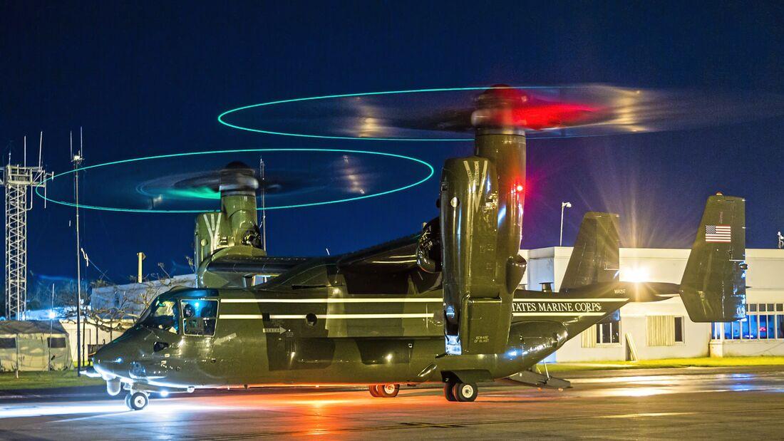 VMGR-252 Assists HMX-1