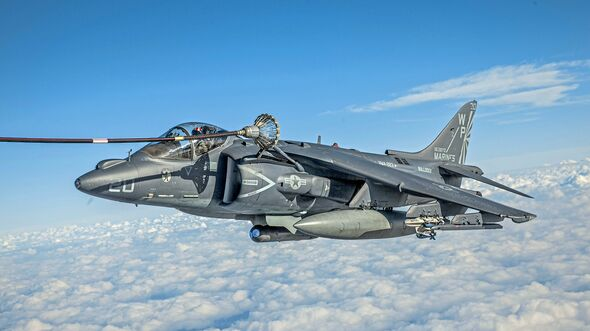 VMGR-252 Conducts Multiple Aerial Refuels above MCAS Cherry Point