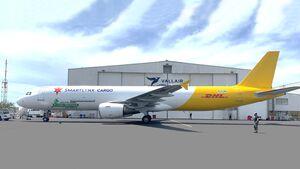 Vallair hat eine A321F an SmarLynx Malta verleast.