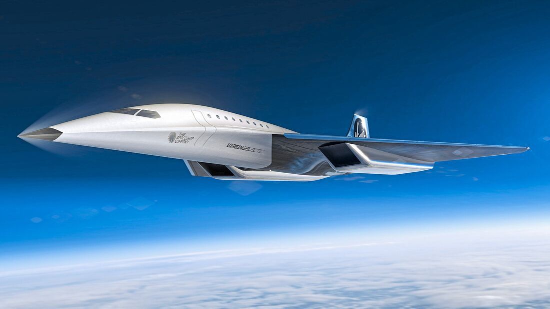 Virgin Galactic Unveils Mach 3 Aircraft Design for High Speed Travel Image 1