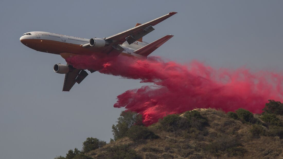 Wildfires Break Out In Los Angeles County As Temperatures Hit Record Highs