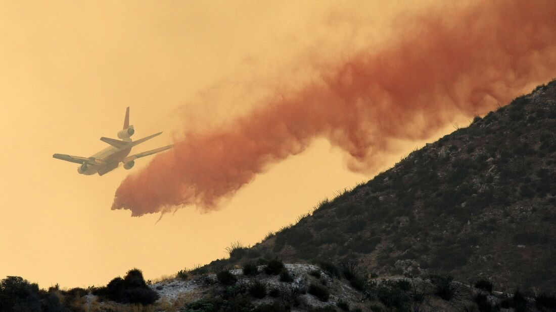 Wildfires Grow In The Bone Dry Forests North Of Los Angeles