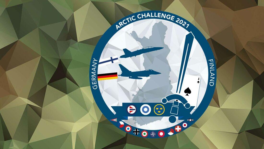 Zehn Eurofighter der Luftwaffe sind bei Arctic Challenge 21 dabei.