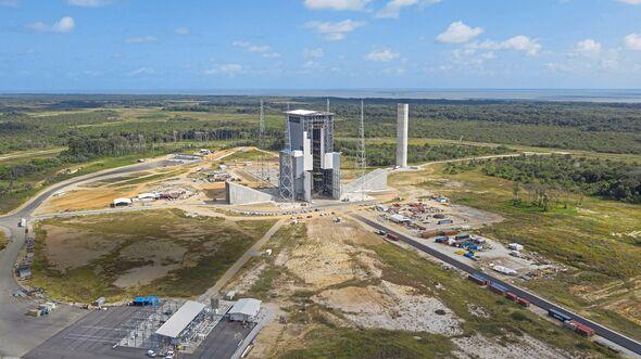 Zone de lancement de l'ELA 4