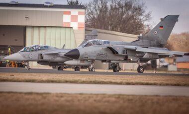 Zu den MAGDAYS in Jagel kamen auch ungarische Saab JAS 39 Gripen.