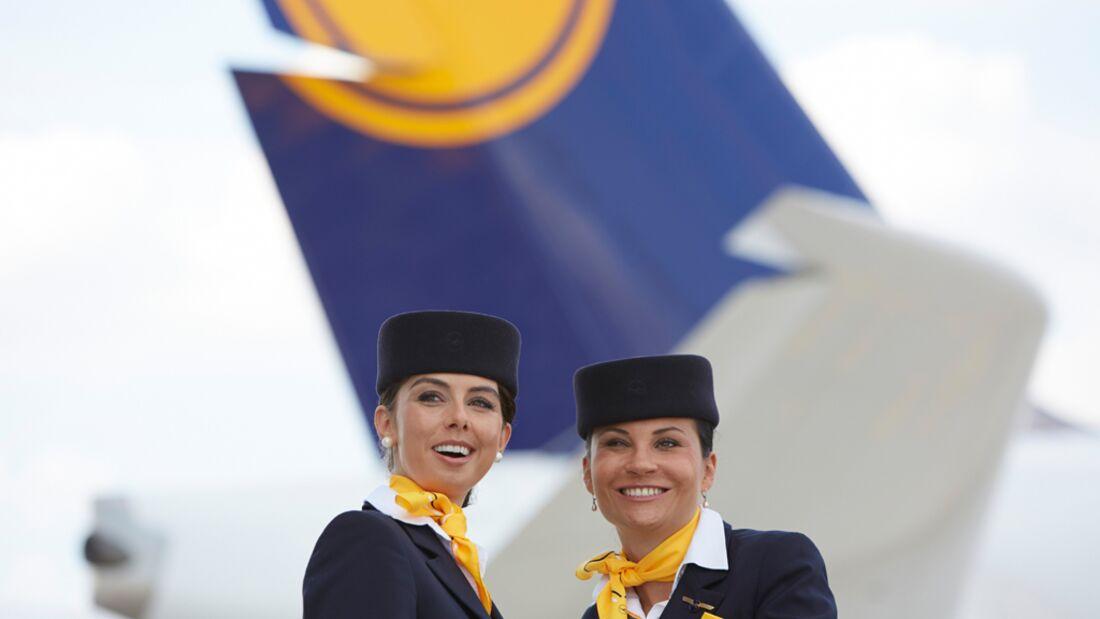 ausbildung stewardess lufthansa
