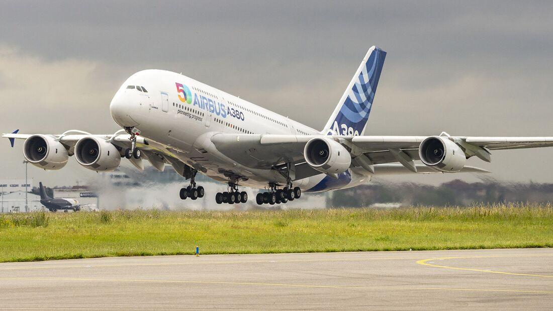 Fliegt Der Airbus A380 Bald Mit Wasserstoff Flug Revue