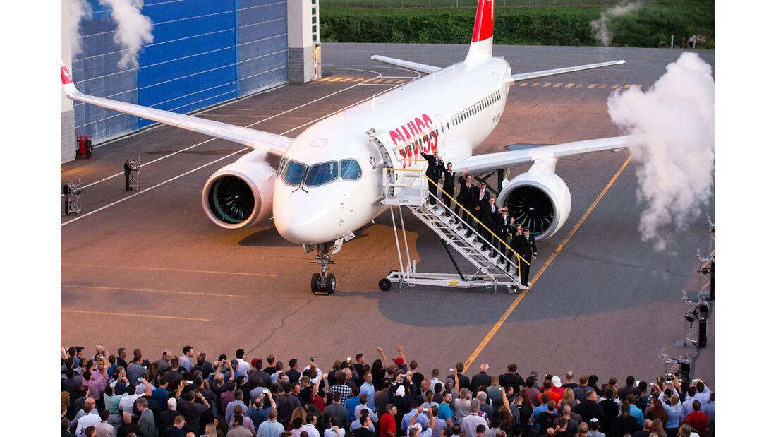 Erster Internationaler Linienflug