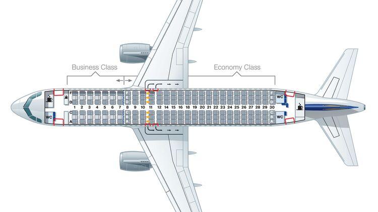 A320 beste plätze 200 airbus Seat Map
